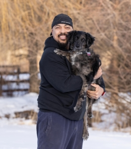 Photo of Phil Lassiter, dog trainer and owner of Respect on Both Ends